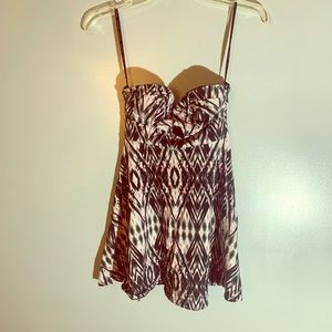 Material girl strapless mini dress size s